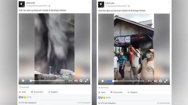 Fenomena Alam Aneh Terjadi di Langit Medan, Ditonton 1 Juta Orang, Letusan Gunung Sinabung?