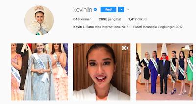 Trend, Celeb Instagram, Kevin Liliana Instagram, Kevin Liliana Instagram @kevinlln