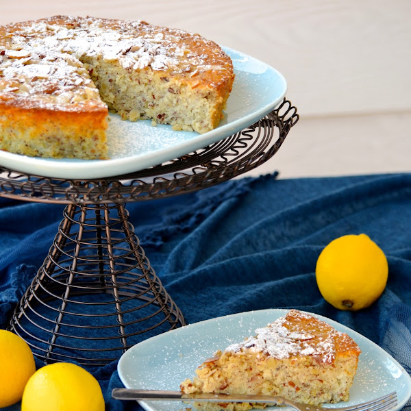 Lemon, Ricotta, and Almond Flourless Cake