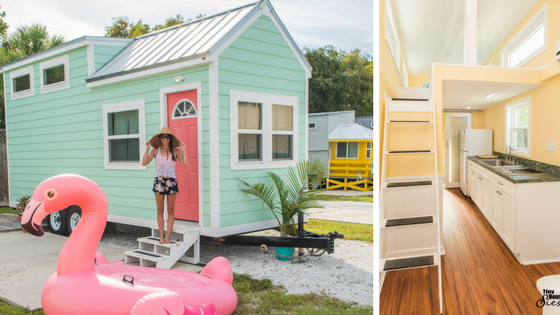 Tiny House Town The Flamingo At Tiny House Siesta