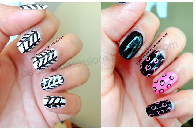 Beginners No Tool NailArt Tutorial...
