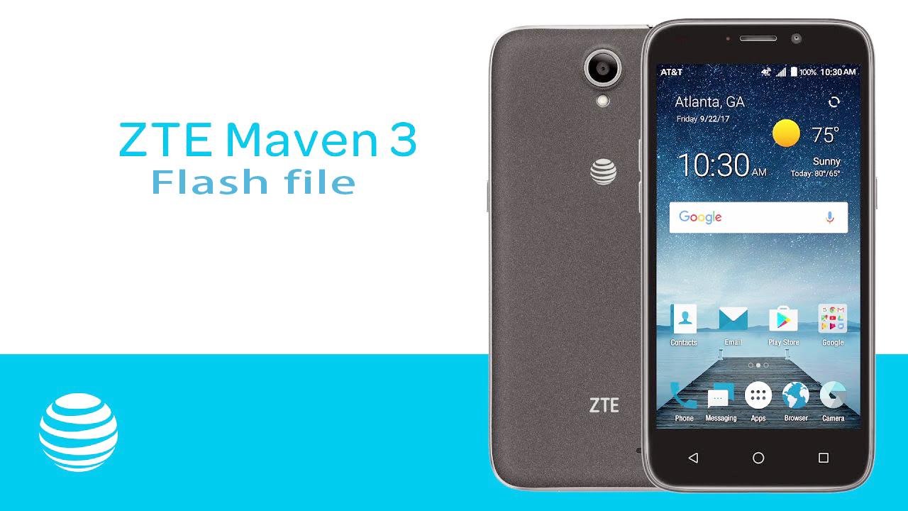ZTE Maven 3 z835 Official Stock Firmware Flash File - GSM TECH BD