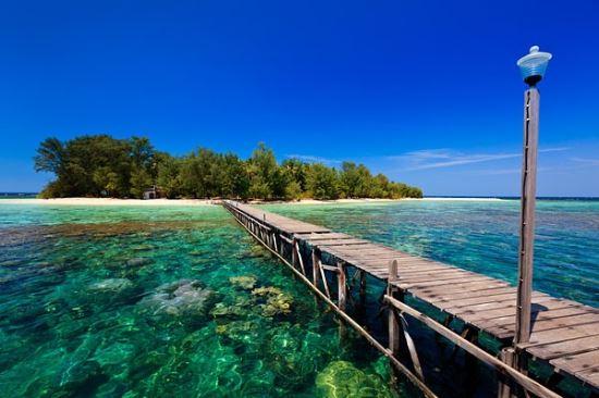 Pulau Karimun Jawa tempat wisata di jepara