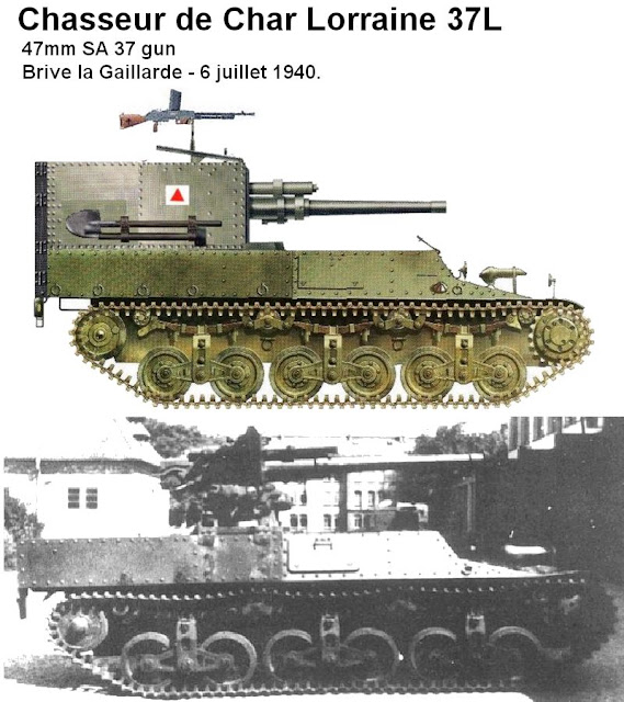 Image result for Chasseur de char Lorraine 37L – 47mm