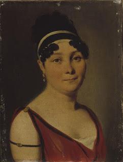 Louis-Léopold Boilly - Portrait de Caroline Branchu - Vers 1810 - Carnavalet, Paris.