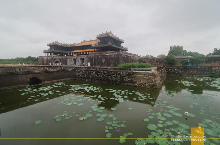 Imperial Citadel Hue Vietnam Moat