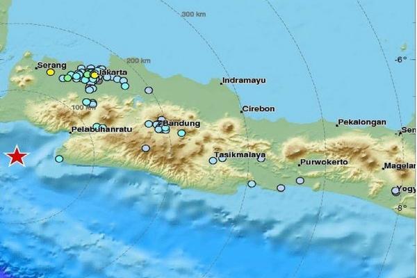 Gempa 6.4 SR Terjadi di Banten, Dihimbau Masyarakat Waspada Khususnya di Kota-Kota ini