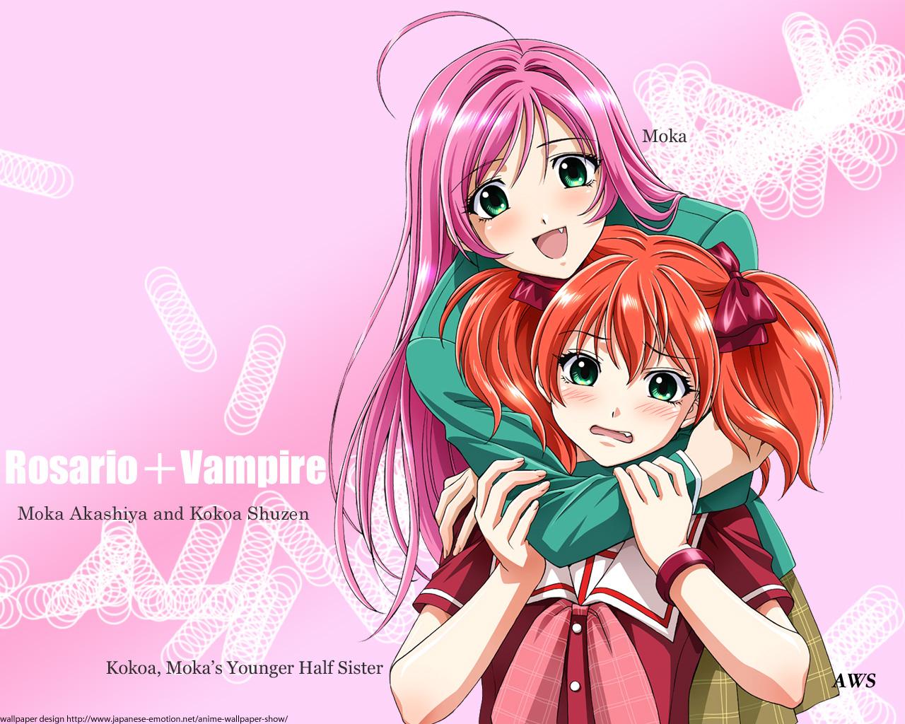Megumi Animes RosarioVampire