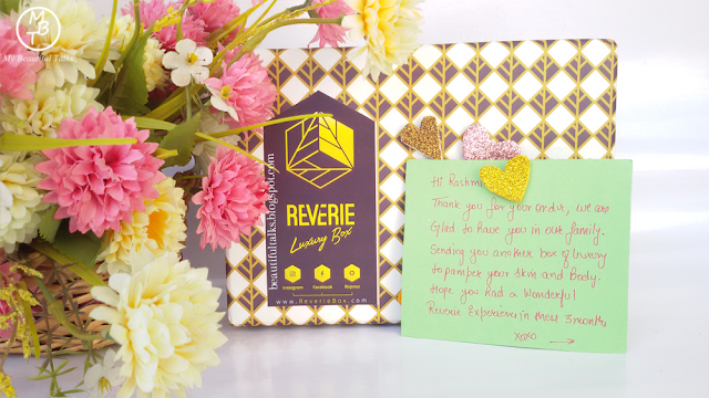 Reverie Box February 2017 | VALENTINE EDITION | Unboxing