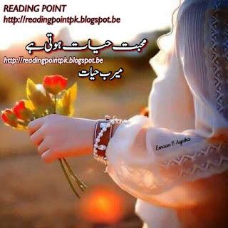 Mohabbat hayat hoti hai by Meerab Hayat Complete Online Reading