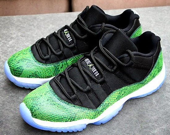 newest e10fc 1dd5e ... today we have another detailed look at the upcoming Air Jordan 11 Retro  Low. This pair known as the