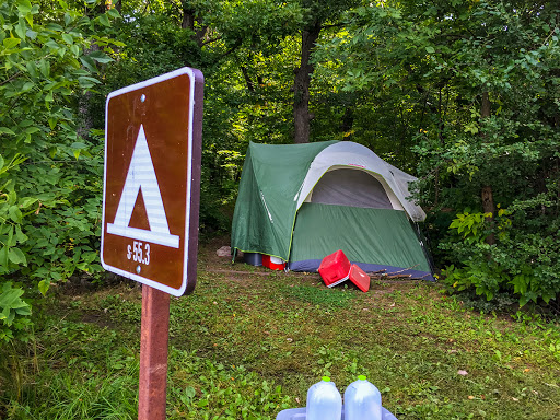 Walk-in/Boat-in campsite in the St. Croix National Scenic Riverway