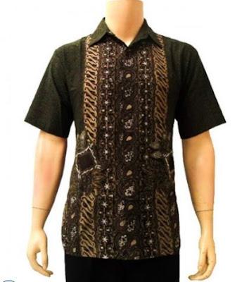 model baju batik pria masa kini