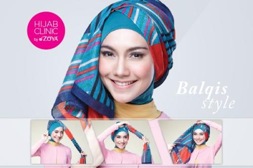 Gaya Hijab Pashmina Remaja