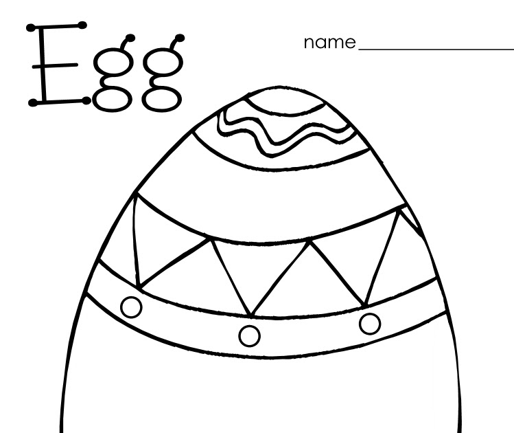 Little Stars Learning: Easter/Egg Coloring and Pre-writing