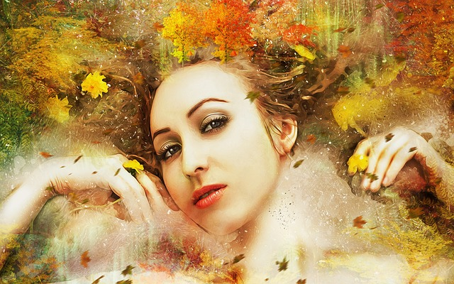 ảnh fantasy mùa thu đẹp