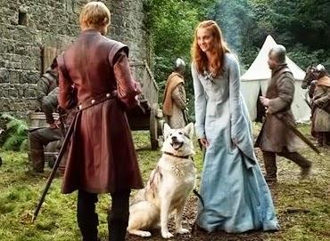 סאנסה, הכלבה ליידי וג'ופרי