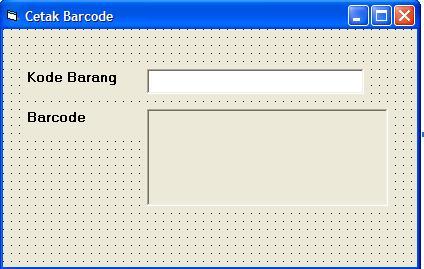 Membuat Barcode dengan VB 6.0