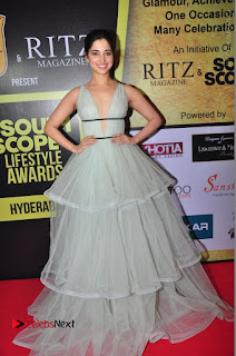 Actress Tamanna Stills at South Scope Lifestyle Awards 2016 Red Carpet  0087.JPG