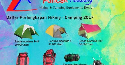 Harga Sewa Perlengkapan Outdoor Hiking Dan Camping Puncak Petualang Rental Alat Outdoor Hiking Sidoarjo Surabaya Rental Alat Camping Tenda Dome
