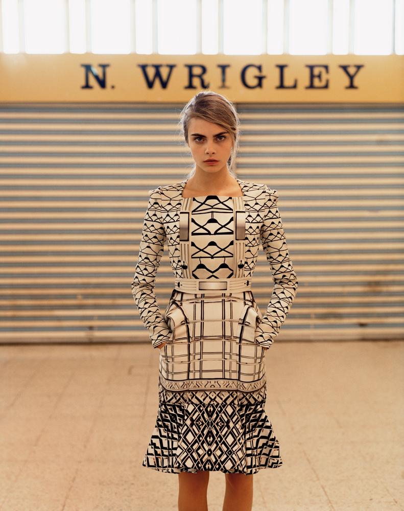 Smartologie: Cara Delevingne For Purple Fashion Magazine