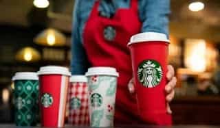 Starbucks Finally Unveils Their Holiday Cups, Including A Special Reusable Option For Customers