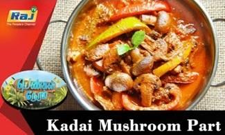 Kadai Mushroom | Food Segment | Pengal Neram