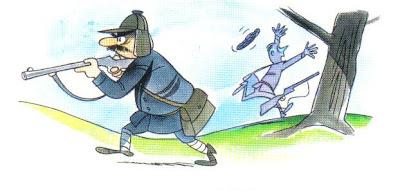 fabula los dos cazadores