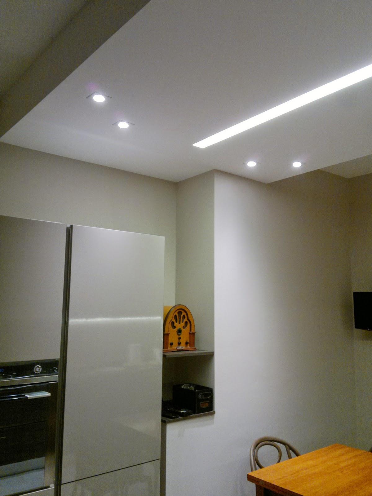 Illuminazione led casa ristrutturando un appartamento - Luci led sottopensili cucina ...