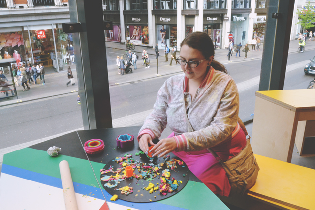 Lush Oxford Street Fun corner