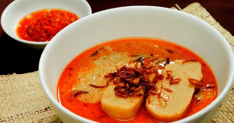 cara membuat laksan palembang resep masakan indonesia