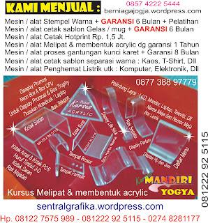 Kursus  Separasi Manual Spot UV UV Vernish Sablon Fiberglass Frosted glass WEBSITE INI