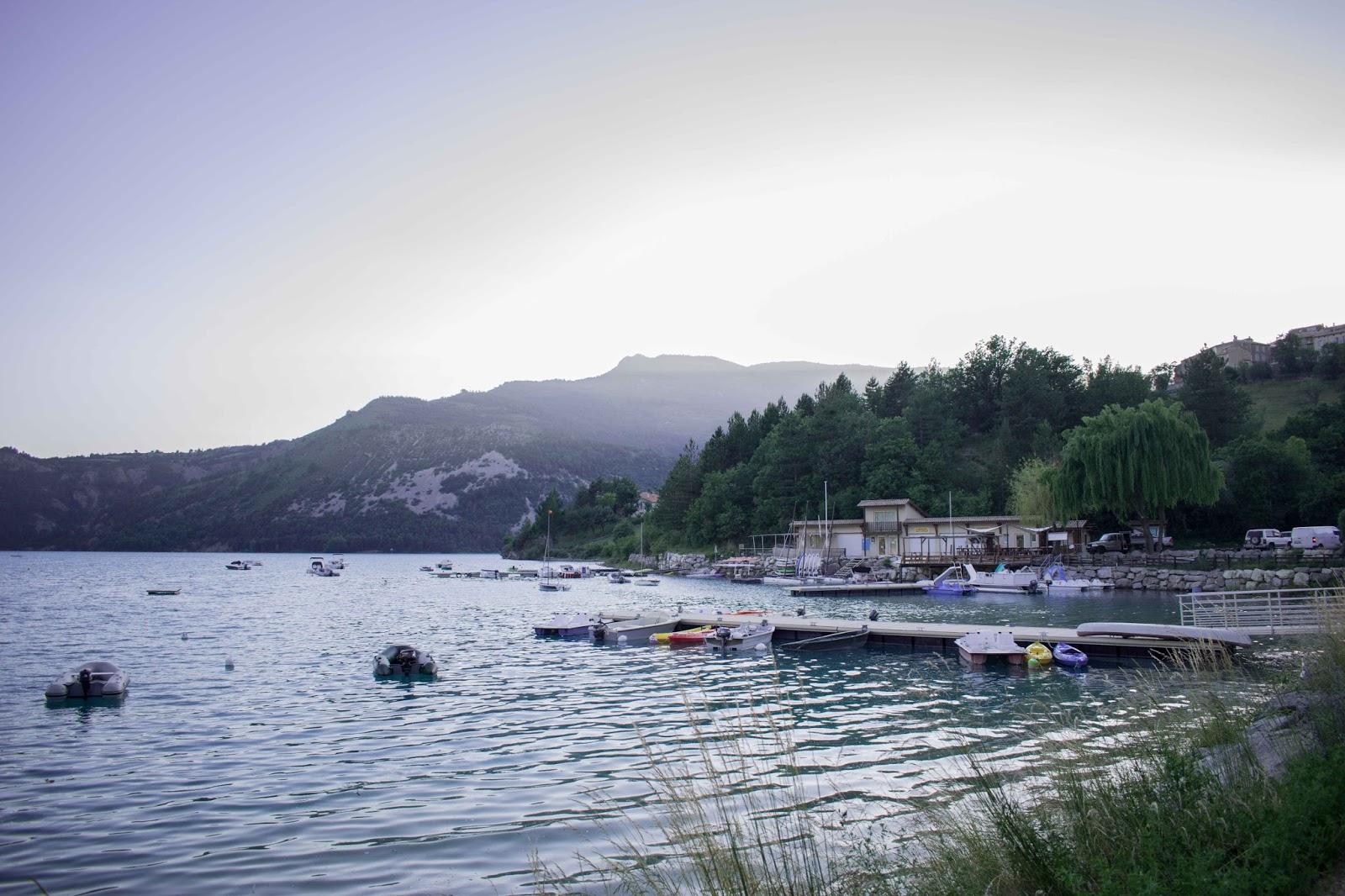 Touron, port, lac, eau, bateaux