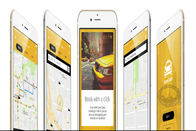 taxi booking ios app