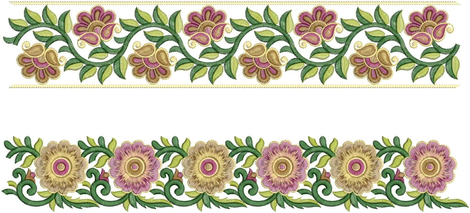 Color design line borders set — Stock Vector ... |Desing Line Border