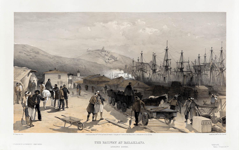 Железная дорога в Балаклаве, построенная англичанами