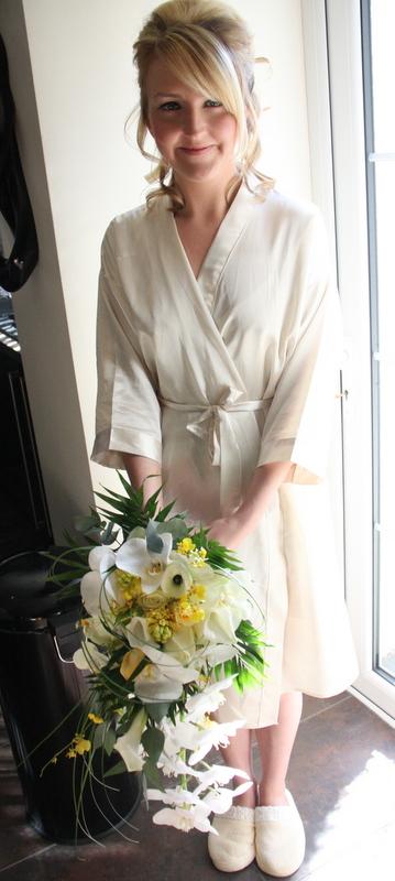 The Sunshine Yellow Wedding Day Of Farrah Booth Amp David