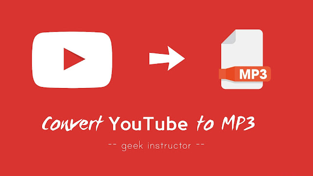 Convert YouTube videos to MP3 audio file