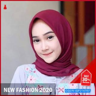 ISF0147I51 Hijab Segiempat Bella BMGShop