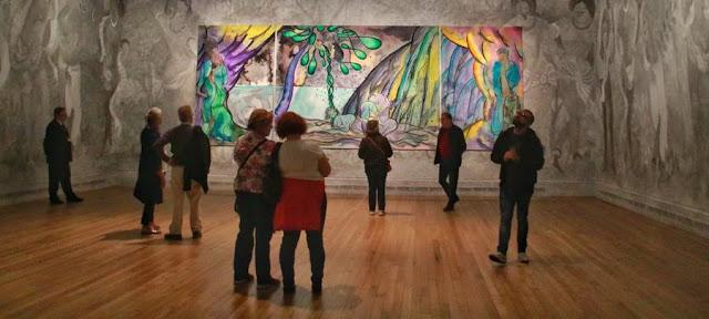 Visita a la Galería Nacional de Londres. Chris Ofili