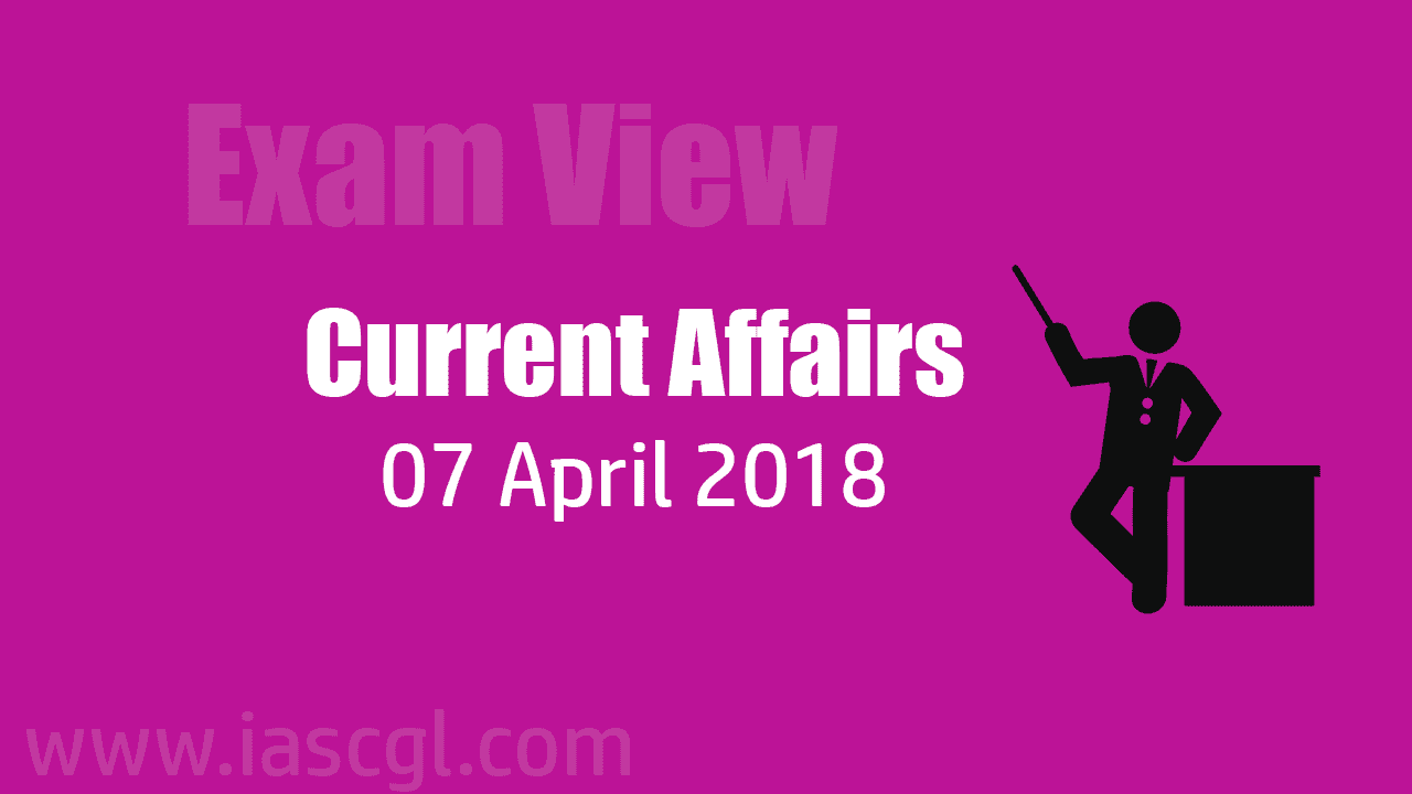 Current Affair 07 April 2018