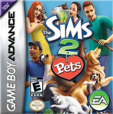 โหลดเกม The Sims 2 Pets .gba