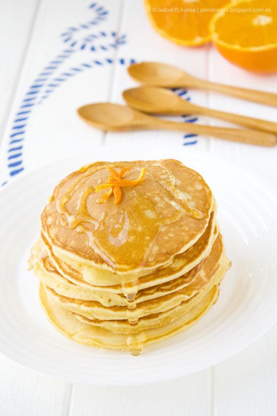pancakes de maíz