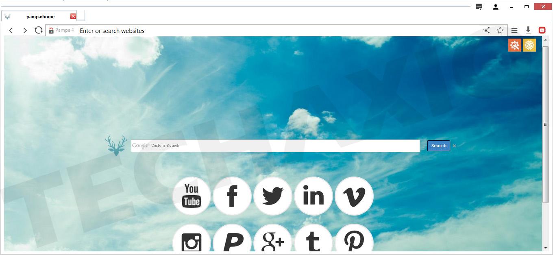 Pampa Browser Screenshot