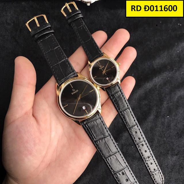 Đồng hồ cặp đôi dây da RD Đ011600