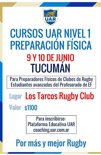 Curso UAR  para Preparadores Físicos en Tucumán