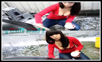 Cewek Hot, cewek cantik lagi cuci mobil, bikin gagal fokus, bikin heboh, Hot Girls, photo seksi, Video, yuk intip videonya, Berita Bebas, BeritaBebasX,