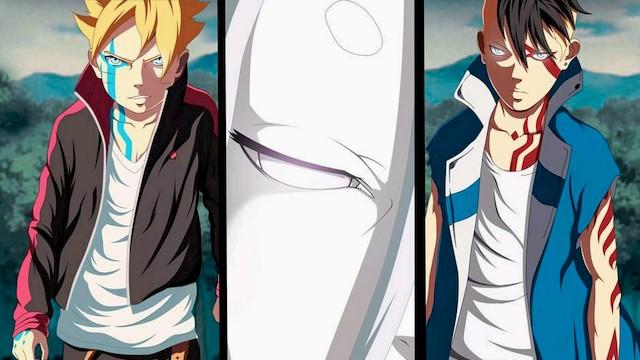 Komik Boruto Chapter 31 - Pertarungan Naruto Vs Delta