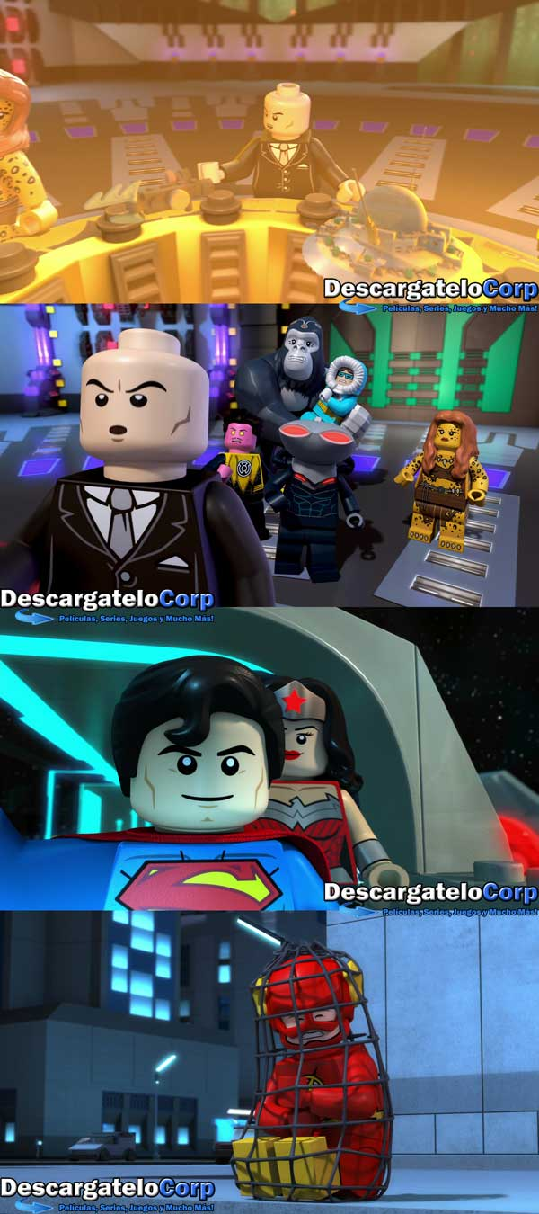 LEGO Justice League Attack of the Legion of Doom 1080p Latino