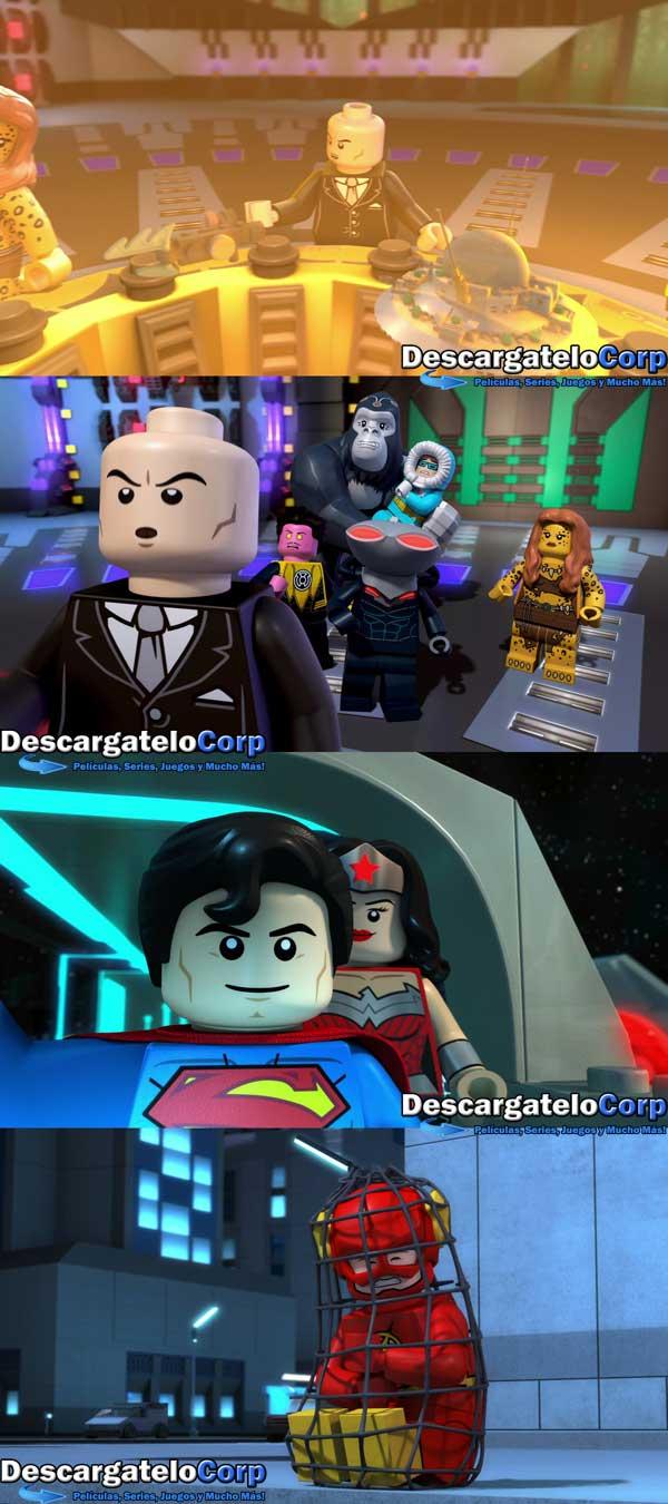 LEGO Justice League Attack of the Legion of Doom 1080p Latino